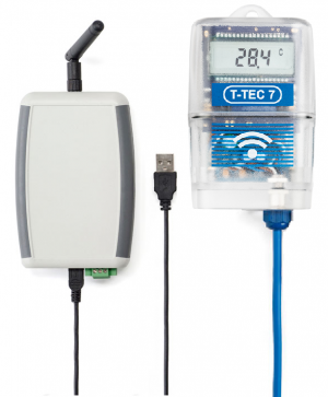 Data logger with alert capability