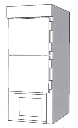 Mortuary Refrigerator for Stillborns