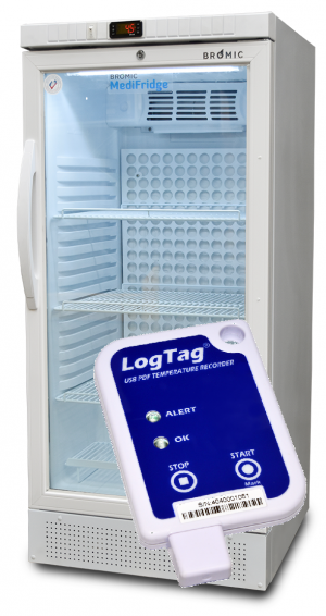 Free LogTag USB data logger with Bromic Med0220GD