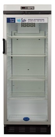 Vet-Safe 311 vaccine fridge for veterinary use