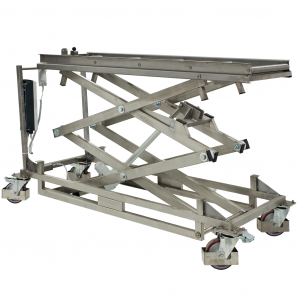 Mortuary Lifter Trolley for use with Standard Mortuary Fridges