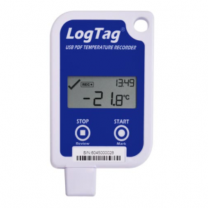 LogTag with USB, display and replaceable battery